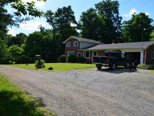 Large Home Convenient to Floyd VA : Willis : Floyd County : Virginia