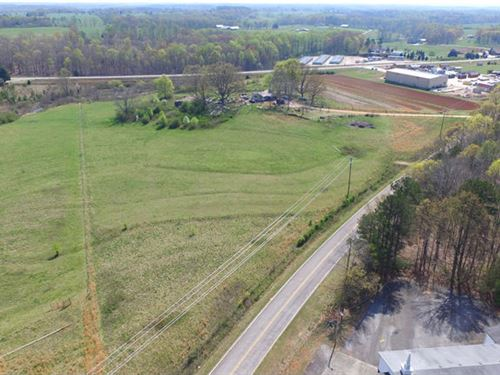 Pasture With Hwy Frontage : Westminster : Oconee County : South Carolina