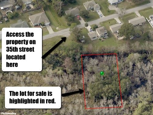 .72 Acre Lot In Edgewater,Fl $9,999 : Edgewater : Volusia County : Florida