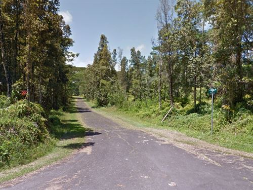 Cozy Wooded Lot, Nanawale Est, Hi : Pahoa : Hawaii County : Hawaii