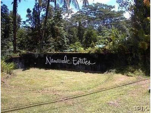 Lush 8,040 Sf Lot Nanawale Est, Hi : Pahoa : Hawaii County : Hawaii