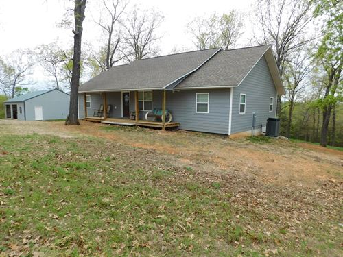 Home Acreage Near Bull Shoals Lake : Lead Hill : Marion County : Arkansas