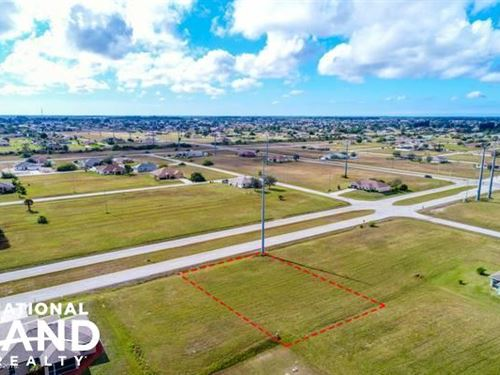 Beautiful Cape Coral Lot : Cape Coral : Lee County : Florida