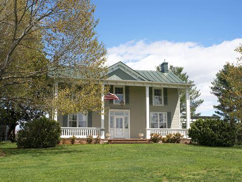 Wind Mist Farm : Madison : Virginia