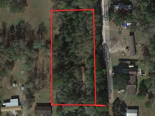 Unrestricted 2 Residential Acres : Silsbee : Hardin County : Texas