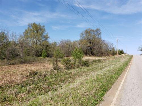 3.6 Acre Home Site Mountain Views : Panama : Le Flore County : Oklahoma