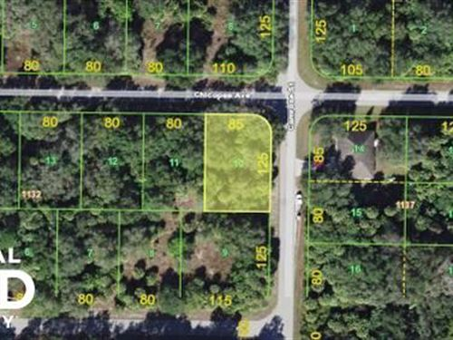 Awesome Lot in Port Charlotte For : Port Charlotte : Charlotte County : Florida