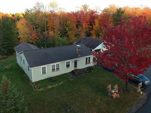 Ranch Style Country Home Winn, ME : Winn : Penobscot County : Maine
