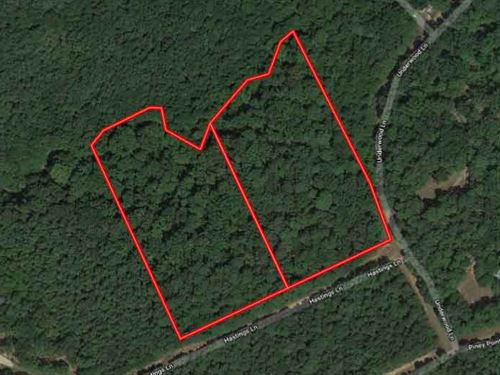 Picturesque Acreage On Rollinghills : Milam : Sabine County : Texas