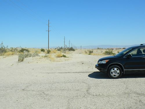 Beautiful Huge Parcel, Great Views : Salton City : Imperial County : California