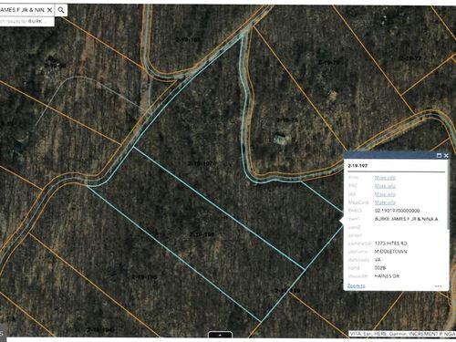 Haines Dr Land For Sale : Capon Bridge : Hampshire County : West Virginia