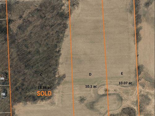 Chelsea Res & Ag Land, Parcel D : Dexter : Washtenaw County : Michigan