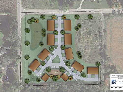 Residential Development Opportunity : Chelsea : Washtenaw County : Michigan