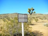 Nice Scenic Parcel Bordering Blm : Apple Valley : San Bernardino County : California