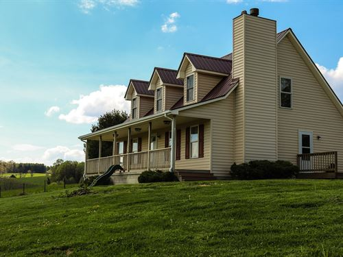 Gorgeous Home Auction Copper Hill : Copper Hill : Floyd County : Virginia