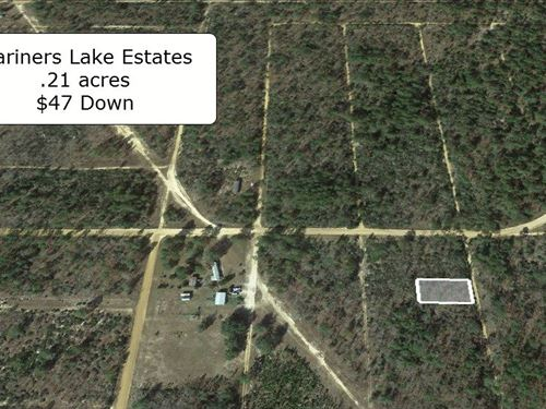 .21 Acre Lot Near Mariners Lake : Interlachen : Putnam County : Florida