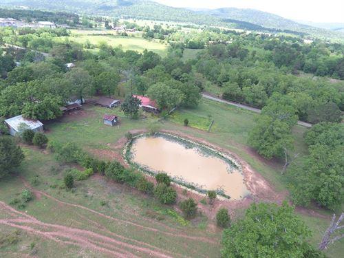 Home And 18 Acres SE Oklahoma : Wilburton : Latimer County : Oklahoma