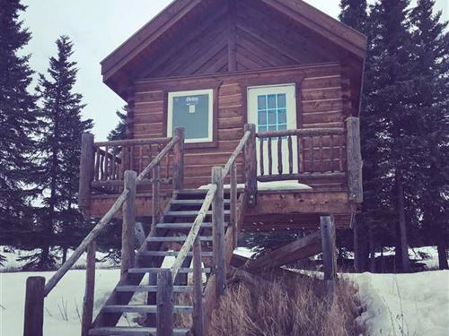 Get Away From it All, Remote Carib : Ninilchik : Kenai Peninsula Borough : Alaska