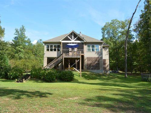 Custom Built Home Lake Wateree : Winnsboro : Fairfield County : South Carolina