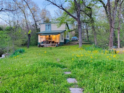 Recreational Country Home Cabin : Sumner : Lamar County : Texas