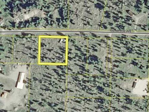 Perfect 1 Acre Rec Lot For Your RV : Ninilchik : Kenai Peninsula Borough : Alaska