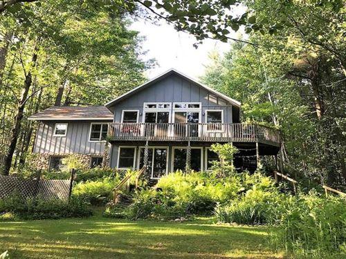 One Of A Kind Buck Lake Home : Pelican : Oneida County : Wisconsin