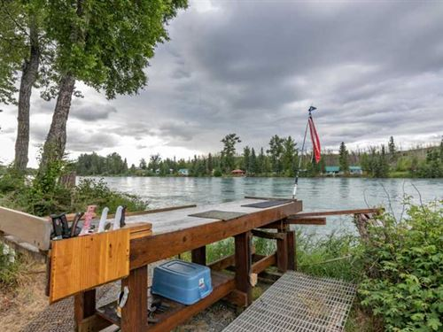 Private Estate OR Lodge on The Wor : Soldotna : Kenai Peninsula Borough : Alaska