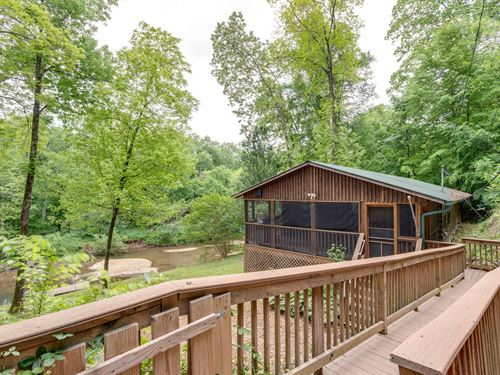 River Views Overlooking Buffalo : Hohenwald : Lewis County : Tennessee