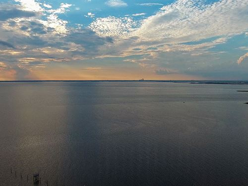 Mobile Bay Area Waterfront Sale : Mobile : Alabama