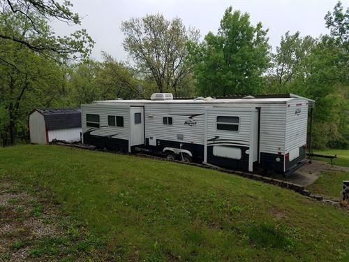 Lake Thunderhead Camper Lot Water : Unionville : Putnam County : Missouri