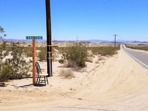 Beautiful-Water-Elec-Near Usmc Base : Twentynine Palms : San Bernardino County : California