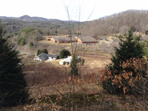 Mountain Top Acreage View 3 States : Warrensville : Ashe County : North Carolina
