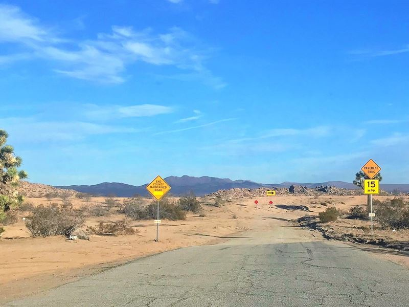 Beautiful Parcel, Power, $255 P/Mo : Lancaster : San Bernardino County : California