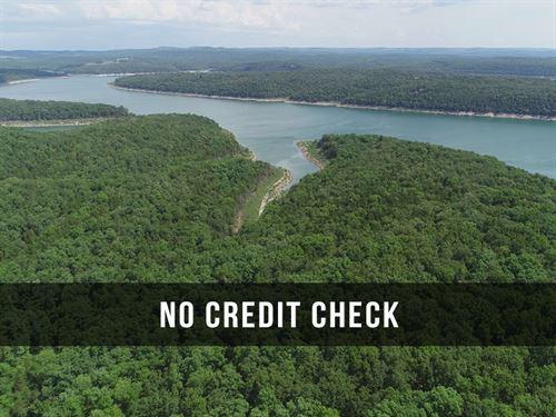 $500 Down On Land At Lake : Cedarcreek : Taney County : Missouri