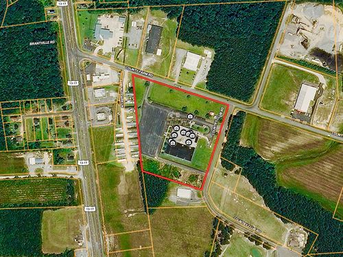 10 Acre Industrial Commercial Site : Windsor : Bertie County : North Carolina