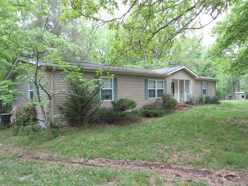 5.6 Acres, Home, 38X48 Shop/Garage : Crossville : Cumberland County : Tennessee