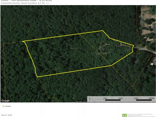 8.30 Acres in Travelers Rest, South Carolina : Travelers Rest : Greenville County : South Carolina