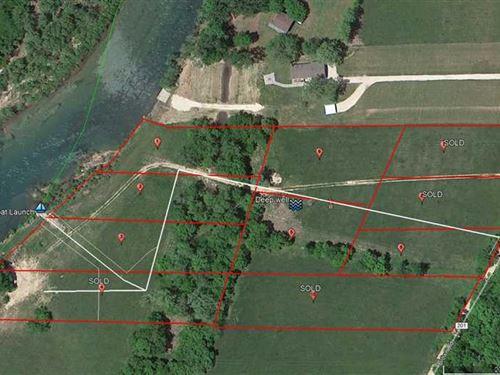Current River Lot For Sale in Van : Van Buren : Carter County : Missouri