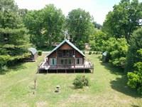 Recreational Cabin Spring River : Mammoth Spring : Fulton County : Arkansas