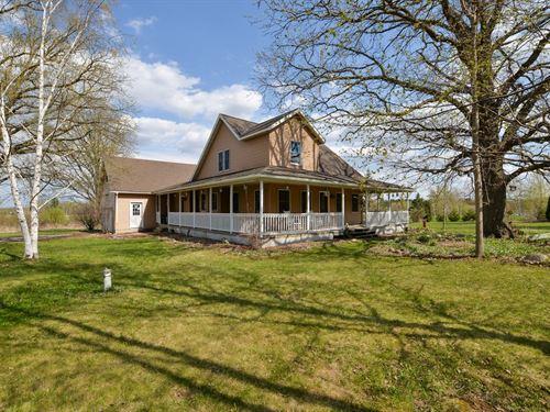 3Br/3Ba Country Home Ogilvie : Ogilvie : Kanabec County : Minnesota
