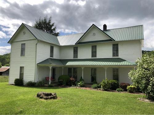 Charming Farmhouse Historic : Bristol : Sullivan County : Tennessee