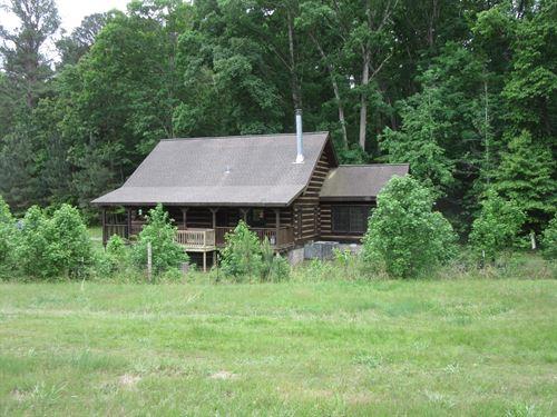 Log Home Lake Access 15.2 ac Horse : New Concord : Calloway County : Kentucky