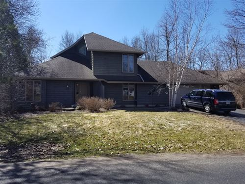Waupaca Riverfront Home For Sale : Waupaca : Wisconsin