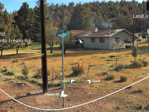 1.8 Acre Cali Pines Wooded Homesite : Alturas : Modoc County : California