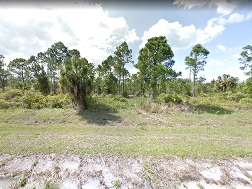 Canal/Creek Front Investment Lot : North Port : Sarasota County : Florida