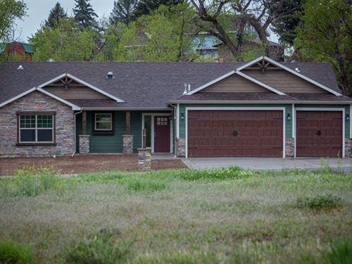 Colorado Mountain Home For Sale : Cedaredge : Delta County : Colorado