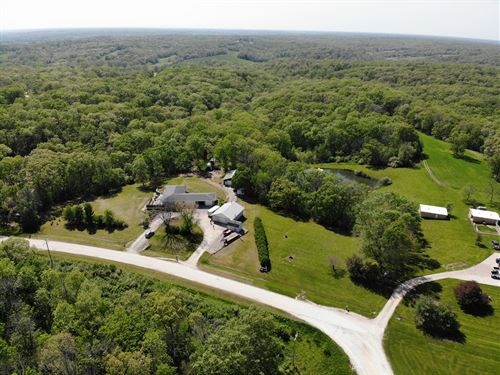 Acreage Ranch Style Home : Bloomfield : Wapello County : Iowa