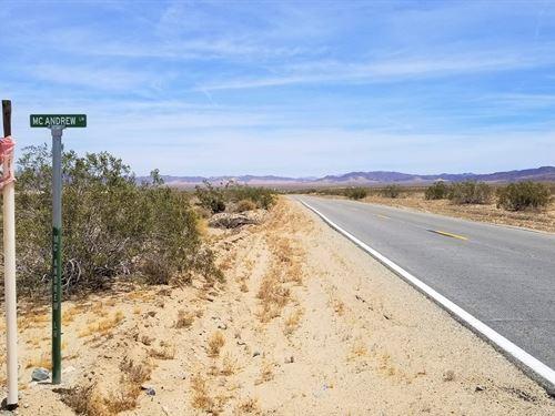 Nice Lot, Old Dale, Wonder Valley : Wonder Valley : San Bernardino County : California