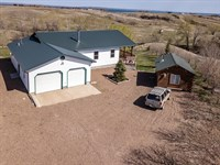 Duck Creek Home & Cabin : Fort Peck : Valley County : Montana