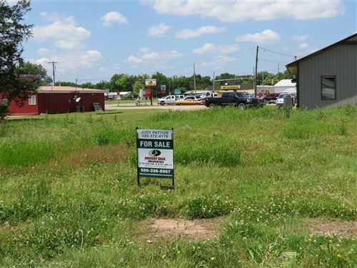Prime Commercial Lot in High Traff : Antlers : Pushmataha County : Oklahoma